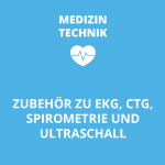 Zubehör zu Spirometrie, EKG, CTG, Ultraschall
